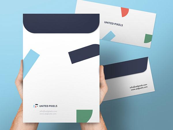 چاپ پاکت نامه فوری | طراحی پاکت نامه